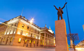 Jim Larkin Statue - Dublin City