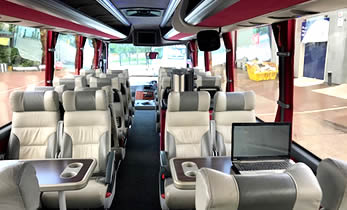 Modern Luxury Coach Hire Corporate - Travel Ireland Coaches