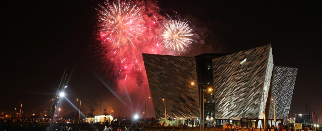 Belfast Halloween Monster Mash and Fireworks Display - Travel Ireland Coaches