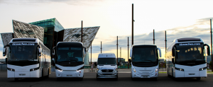 Modern Luxury Coach Hire Fleet - Travel Ireland Coaches